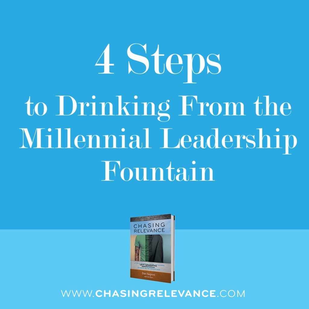 4 Steps to Drinking from the Millennial Leadership Fountain